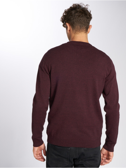 Jack & Jones Pullover jjeBasic red