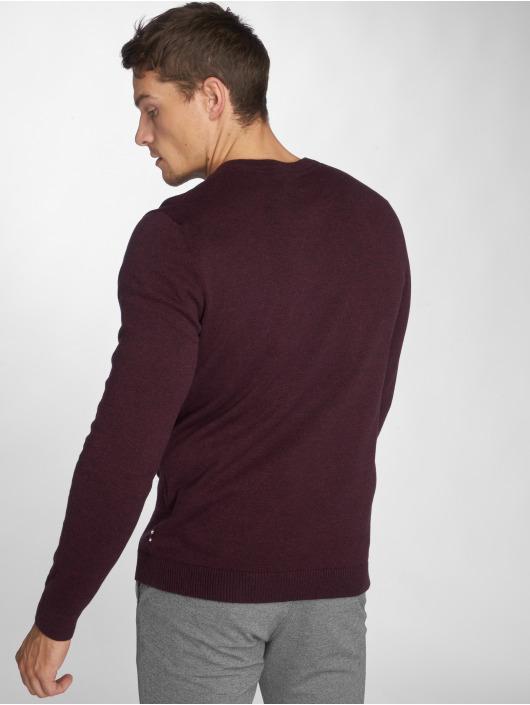 Jack & Jones Pullover jjeBasic Knit red
