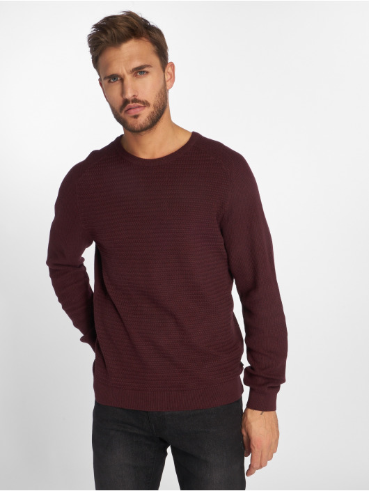 Jack & Jones Pullover jprPost Knit red