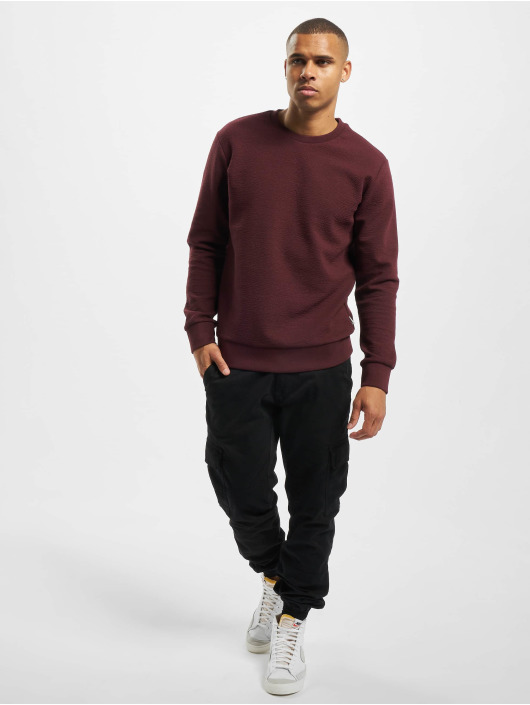 Jack & Jones Pullover jcoStructure red