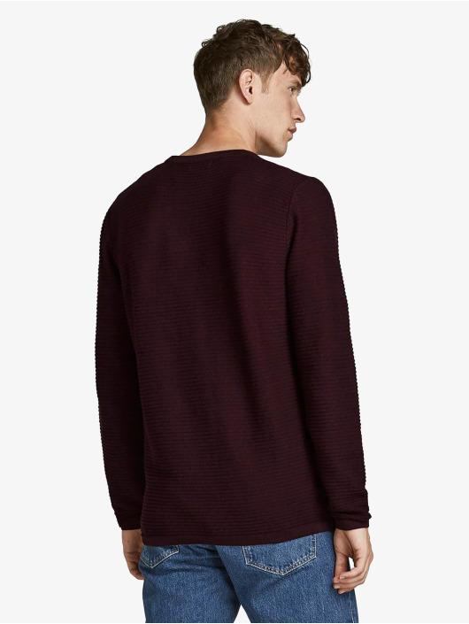 Jack & Jones Pullover Jjewind Knit red