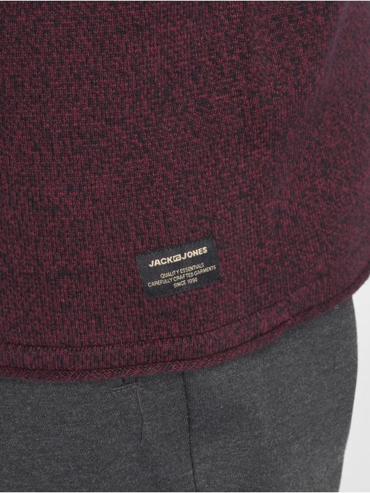 Jack & Jones Pullover jjeUnion Knit rot