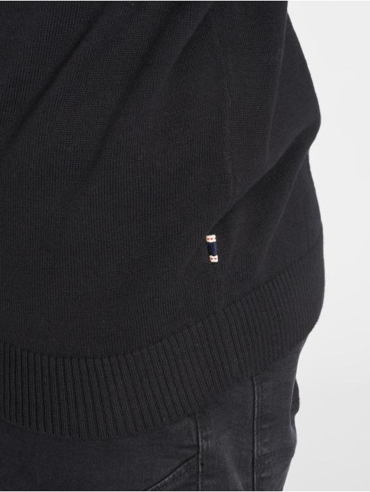 Jack & Jones Pullover jjeBasic Knit schwarz