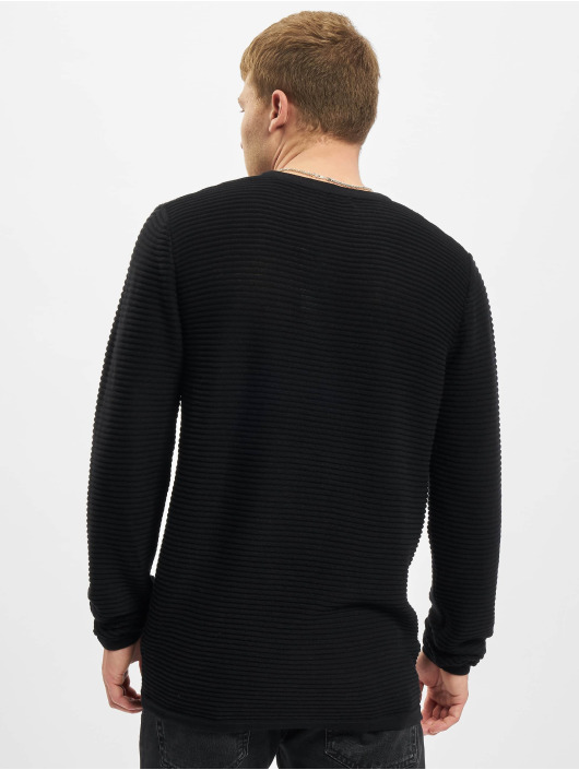 Jack & Jones Pullover Jjewind Knit schwarz