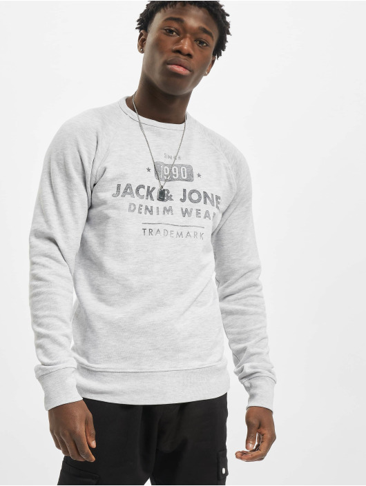 Jack & Jones Pullover jjeJeans Washed Noos white