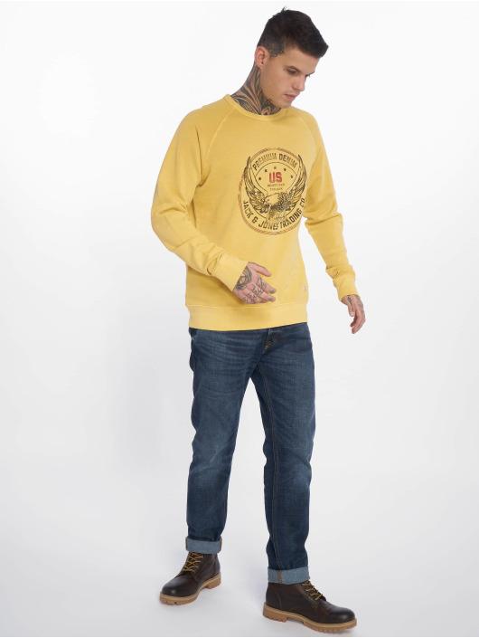 Jack & Jones Pullover jprSteffan yellow