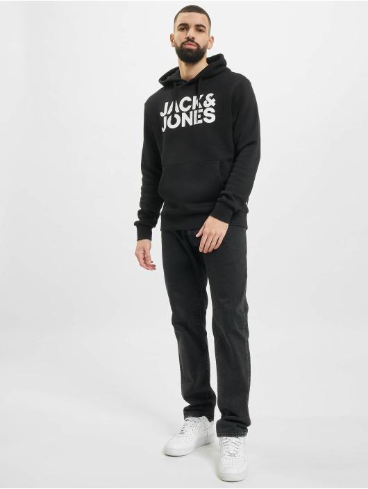 Jack & Jones Pulóvre Jjecorp Logo 2-Pack èierna