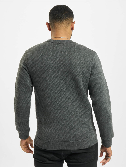 Jack & Jones Pulóvre jjStructure šedá