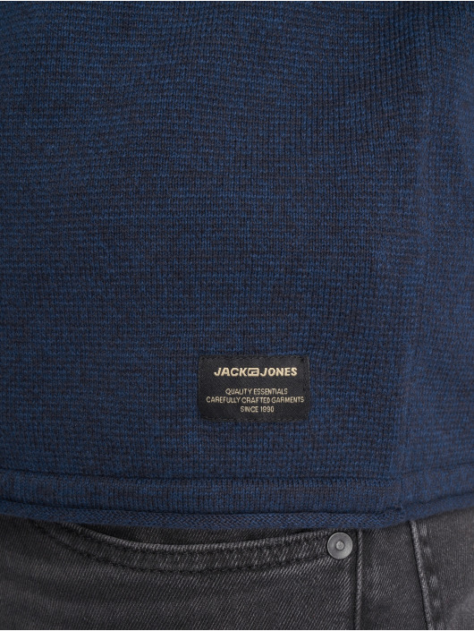 Jack & Jones Pulóvre jjeUnion Knit modrá