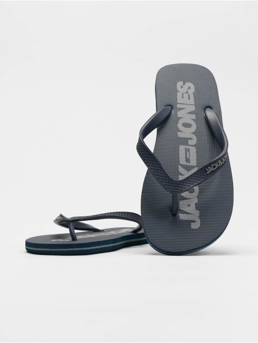 Jack & Jones Sandalen Jfwlogo Pack 1 blau