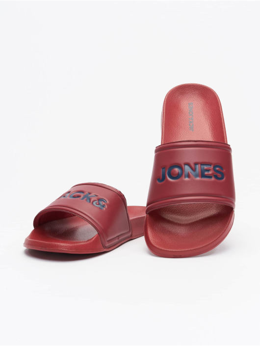 Jack & Jones Sandalen JFW Larry Pool rot