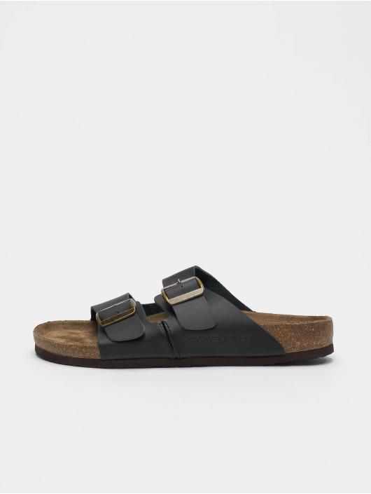 Jack & Jones Sandalen jfwCroxton Leather schwarz