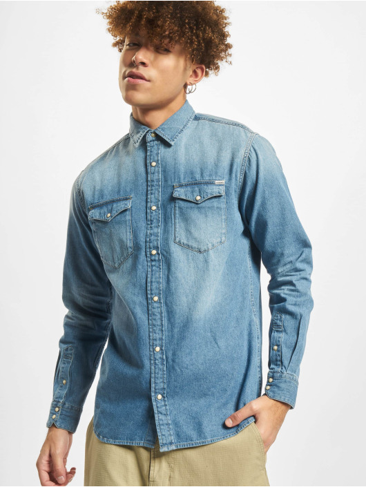 Jack & Jones Shirt jjeSheridan blue