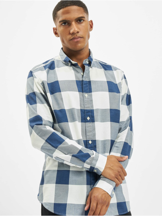 Jack & Jones Shirt jprBlamelange Check blue