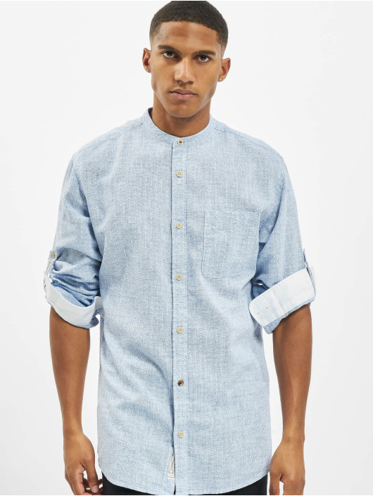 Jack & Jones Shirt jprBlusummer Dobby Band blue