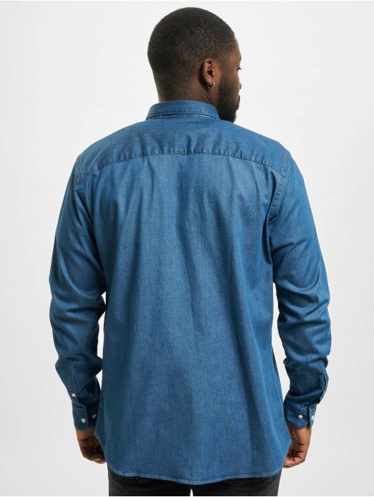 Jack & Jones Shirt jprBlalogo Stretch Denim Noos blue