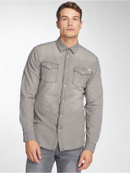 Jack & Jones Shirt jjeSheridan gray