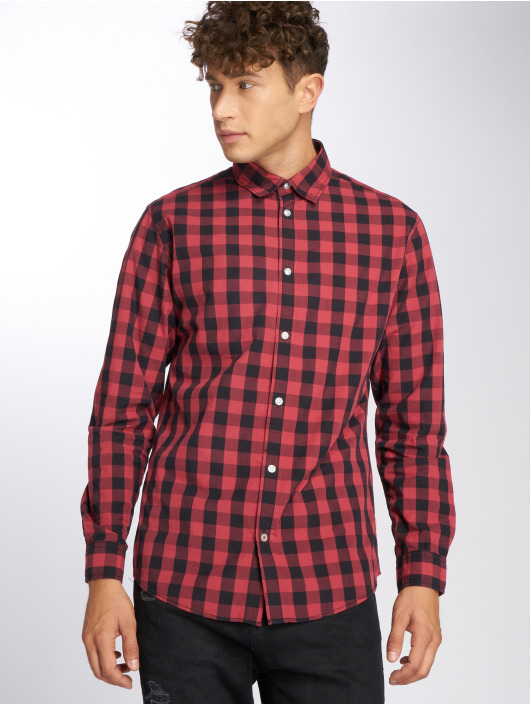 Jack & Jones Shirt jjeGingham red
