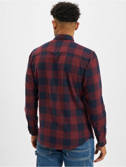 Jack & Jones Shirt Jjegingham Twill red
