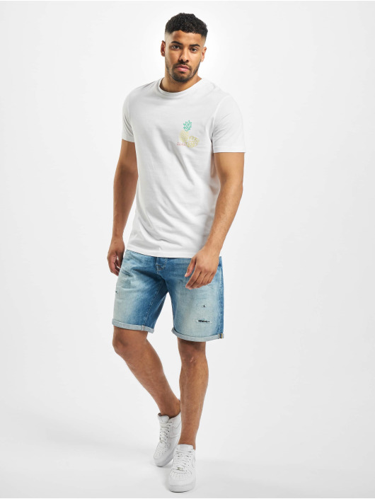 Jack & Jones Short jjiRick jjGridd JJ 276 bleu