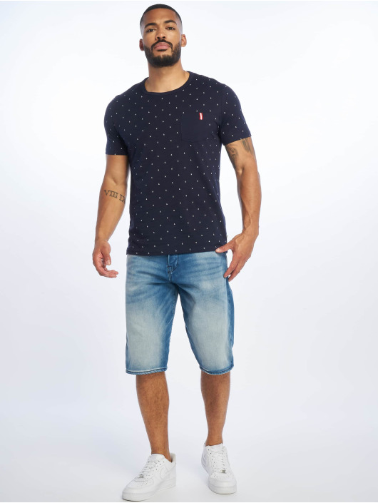 Jack & Jones Short jjiRon jjLong Noos blue