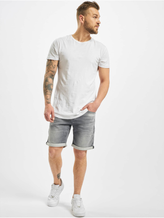 Jack & Jones Shorts jjiRick jjiCon GE 005 L.K STS grau