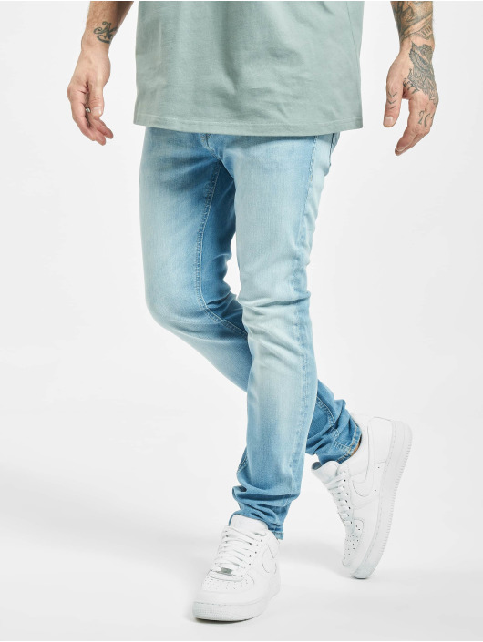 Jack & Jones Skinny jeans jjiLiam Jjoriginal Agi 002 blå