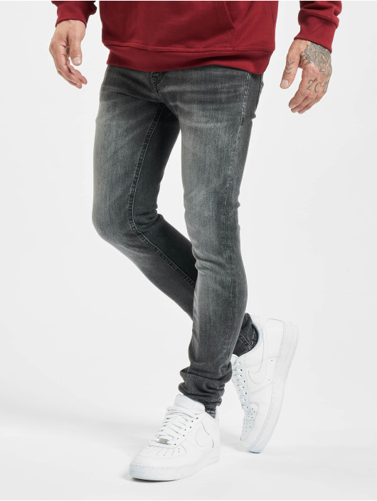Jack & Jones Skinny Jeans jjiLiam jjOriginal 817 black