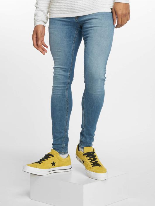 Jack & Jones Skinny Jeans jjiTom jjOriginal Am 815 blau