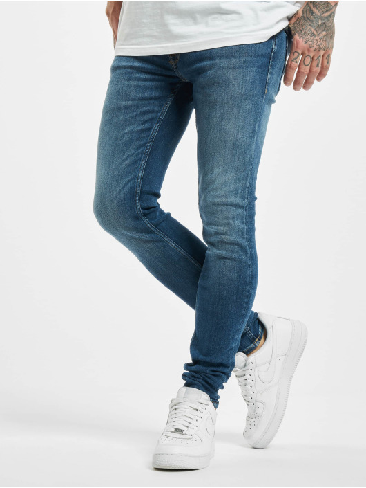 Jack & Jones Skinny Jeans jjiTom jjOriginal CJ 930 blau