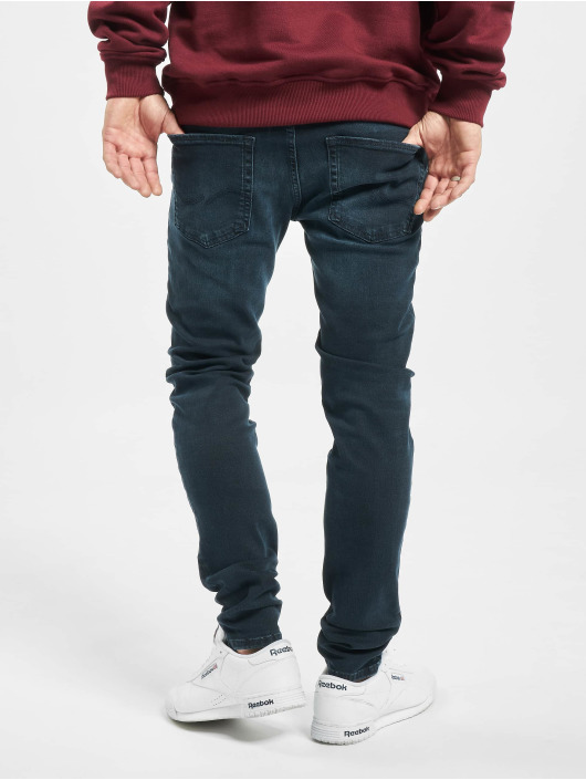 Jack & Jones Skinny jeans jjiLiam Jjoriginal Agi 004 blauw