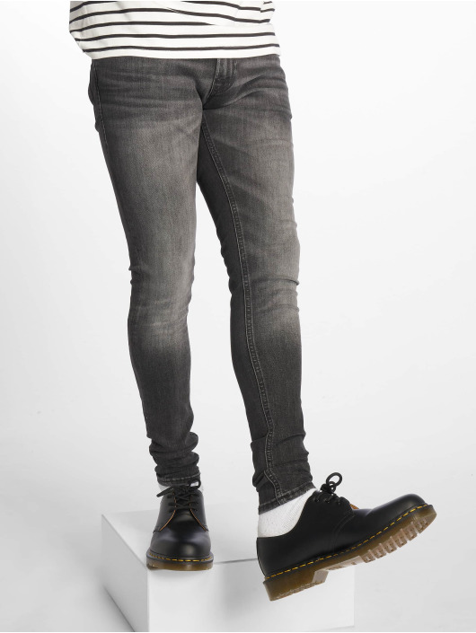 Jack & Jones Skinny Jeans jjiTom jjOriginal Am 817 czarny