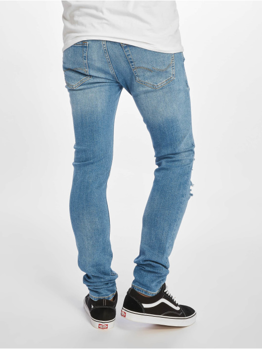 Jack & Jones Skinny Jeans jjiLiam jjOriginal modrý