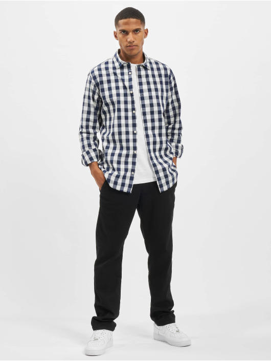 Jack & Jones Skjorter jjePlain Check Noos blå