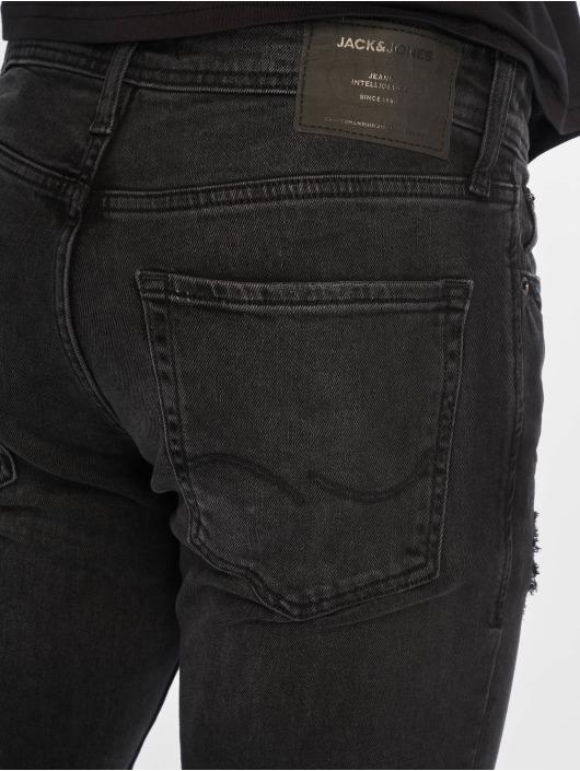 Jack & Jones Slim Fit -farkut jjiGlenn jjOriginal musta