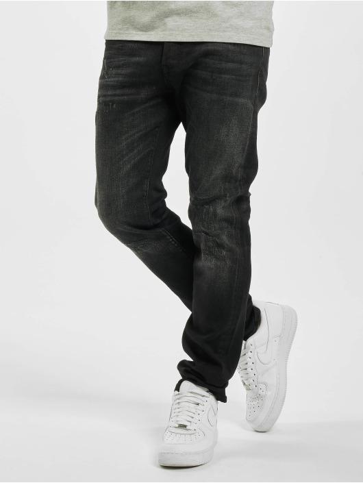 Jack & Jones Slim Fit -farkut jjiGlenn jjiCon JOS 141 50sps STS musta