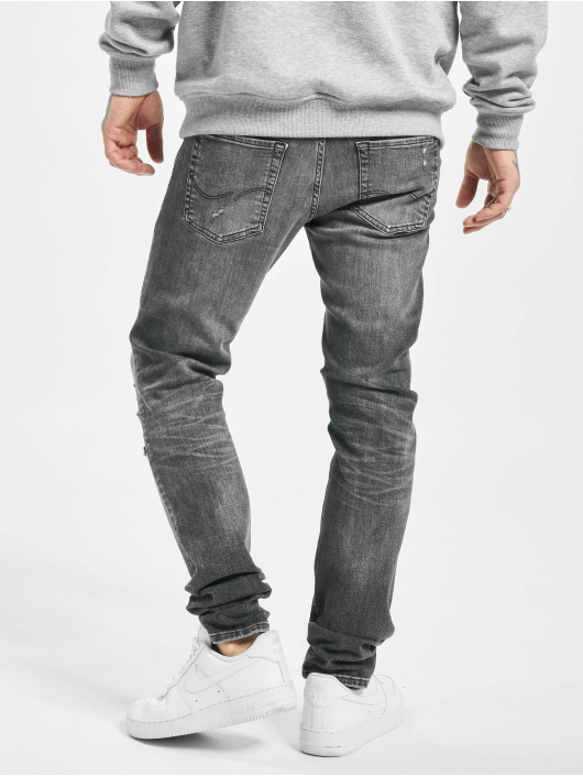 Jack & Jones Slim Fit Jeans jjiGlenn jjOriginal JJ 056 50sps èierna