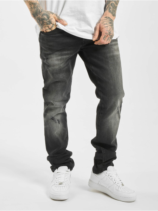 Jack & Jones Slim Fit Jeans jjiGlenn jjIcon AM 927 ESP èierna
