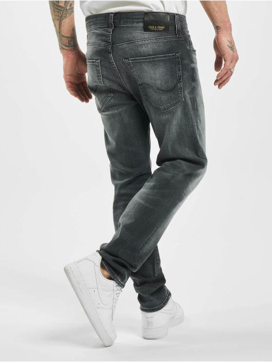 Jack & Jones Slim Fit Jeans jjiTim jjiCon jj 171 Noos èierna
