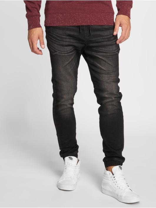 Jack & Jones Slim Fit Jeans jjiVega JJLane čern