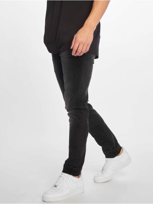 Jack & Jones Slim Fit Jeans jjiGlenn jjOriginal čern