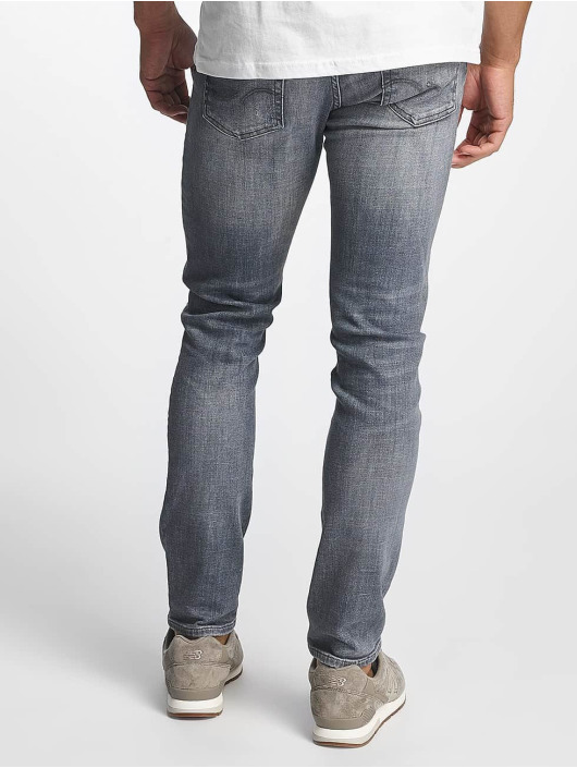Jack & Jones Slim Fit Jeans jjiGlenn jjOriginal JJ 052 šedá