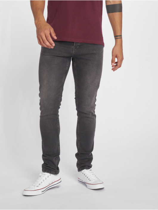Jack & Jones Slim Fit Jeans jjiGlenn jjOriginal NZ 007 šedá