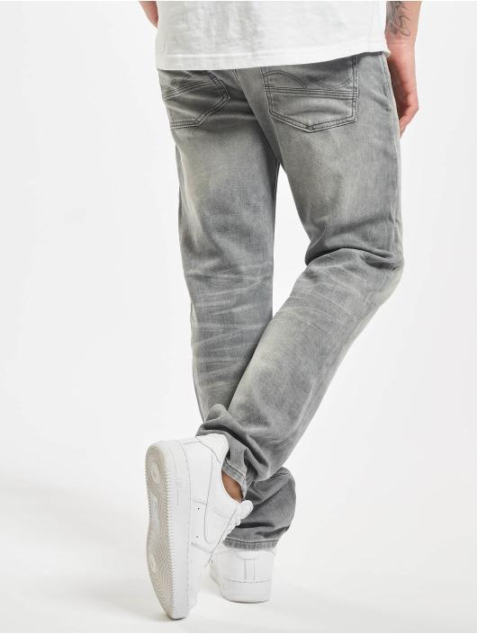 Jack & Jones Slim Fit Jeans jjiTim jjLeon GE 067 šedá