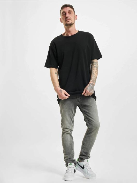 Jack & Jones Slim Fit Jeans jjiGlenn jjOriginal NA 034 šedá