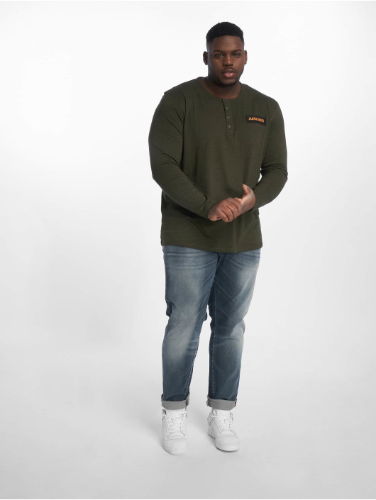 Jack & Jones Slim Fit Jeans Jjiglenn Jjfox Bl 819 Ps blå