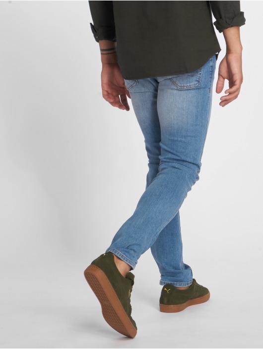 Jack & Jones Slim Fit Jeans jiGlenn jjOriginal NZ003 blå