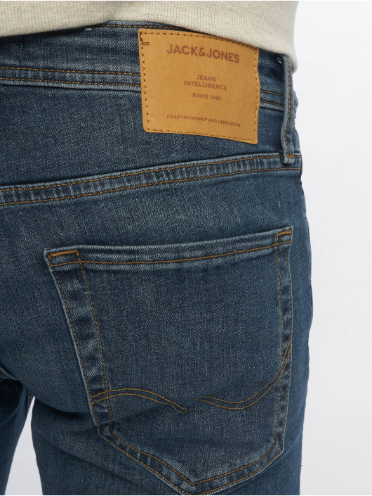 Jack & Jones Slim Fit Jeans jjiGlenn jjOriginal AM 814 NOOS blå