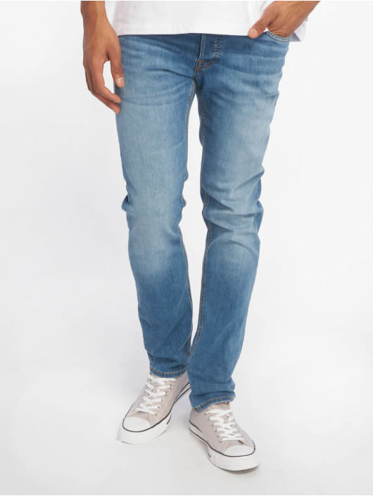 Jack & Jones Slim Fit Jeans jjiGlenn blå