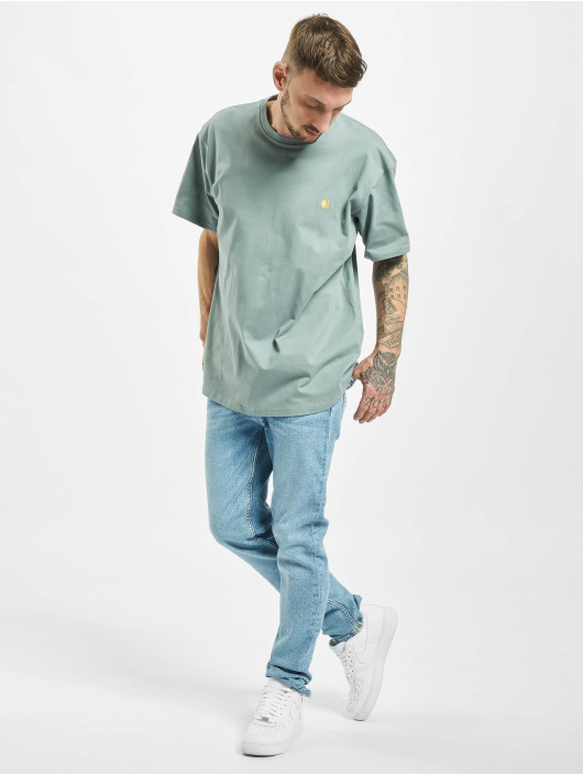 Jack & Jones Slim Fit Jeans jjiGlenn jjOriginal CJ 080 50sps blå